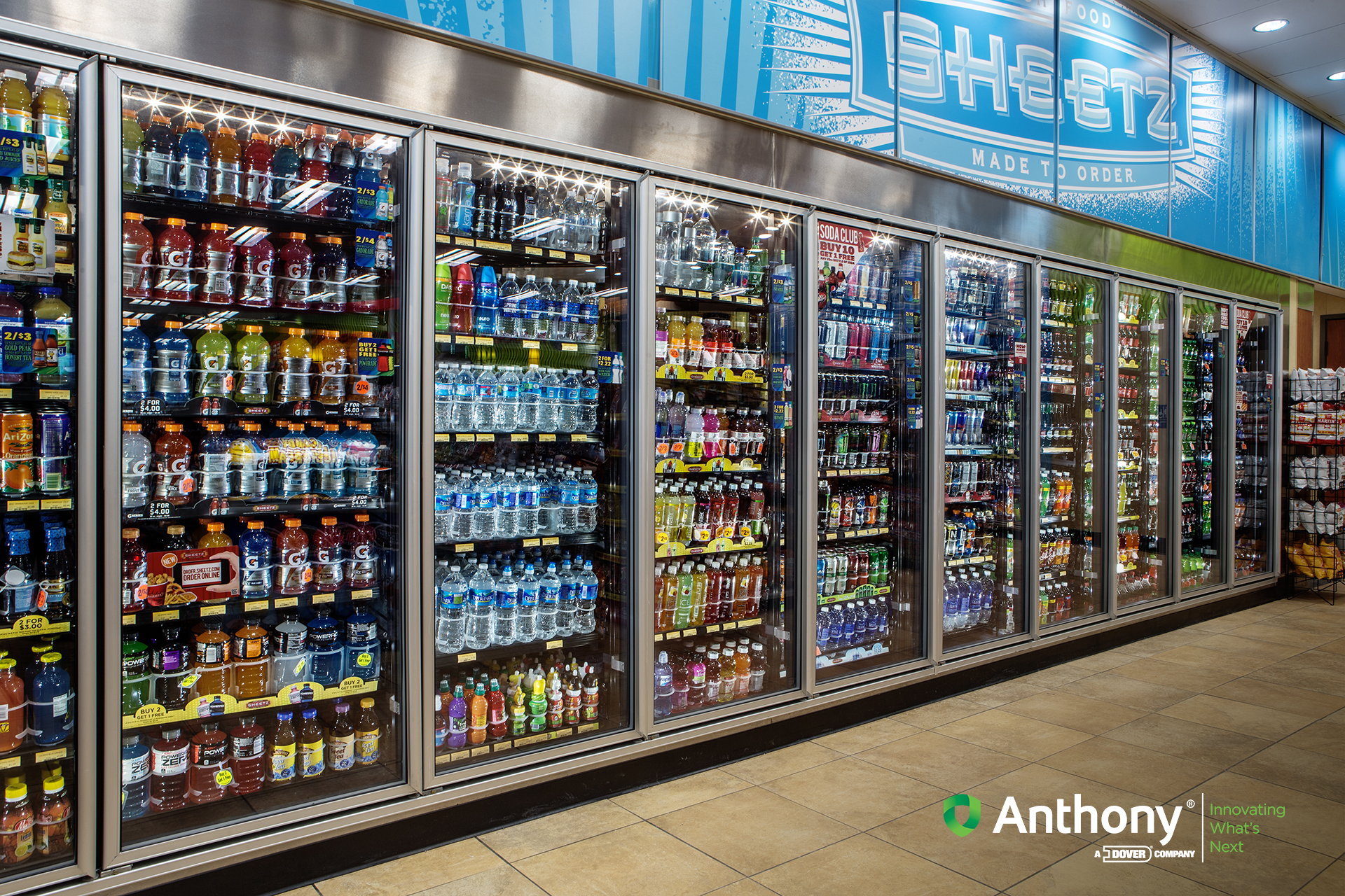 & Images | 101 Series Convenience Store Glass Doors for Display Coolers