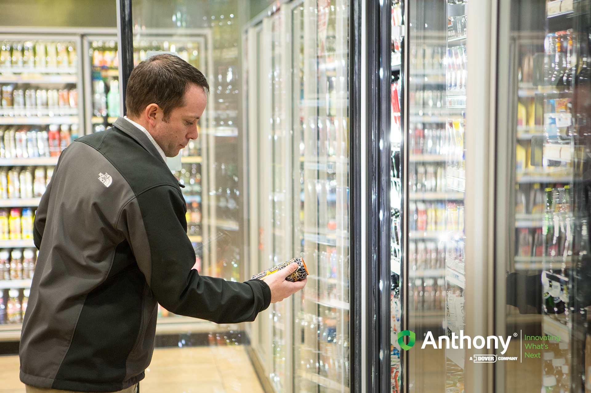 Images 101 Series Convenience Store Glass Doors For