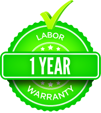 1-year Labor Warranty
